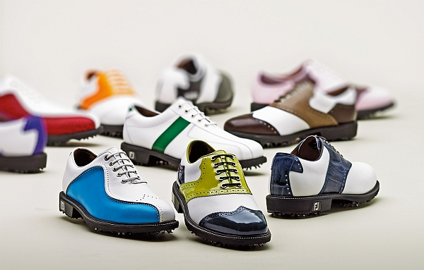 Classy, but don't call them Classics: Footjoy's new Icon series are fully customizable. MSRP: $300 CDN