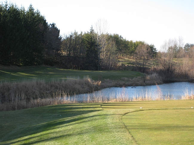 The 11th at Osprey Valley's Parkland course on a cool, crisp day.