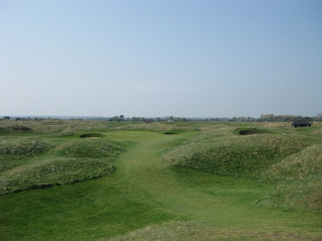 Royal St. George's terrific 8th hole.