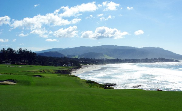 Pebble Beach - 9th and 10th holes