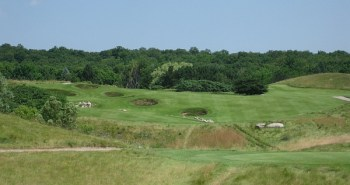 The third hole at Devil's Paintbrush.