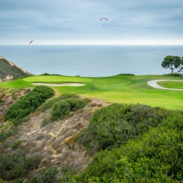 Signature par-3 3rd hole at Torrey Pines South