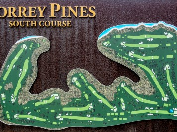 Championship South course at Torrey Pines Golf Club
