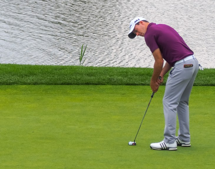 PGA Tour winner Nick Taylor on the 6th