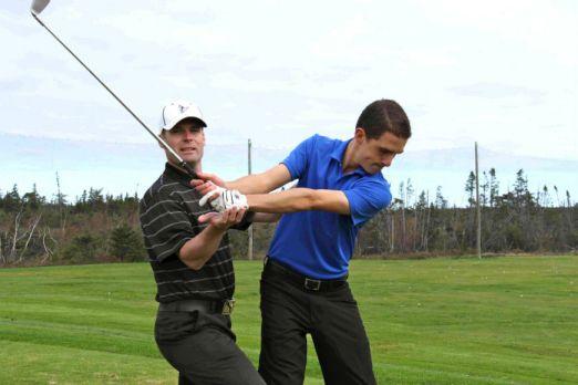 Ted Stonehouse, Clovelly Golf Club (Image: Clovelly Golf Club)