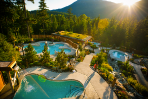 Scandinave Spa, Whistler, British Columbia, Canada