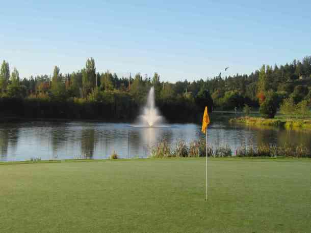The Pond on 17, Cordova Bay Golf Course, Victoria BC