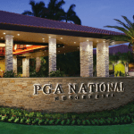 PGA National Resort and Spa front entrance