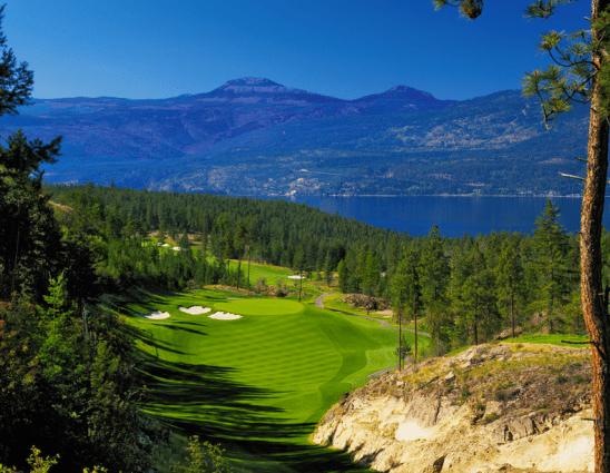 Predator Ridge Golf Resort, seventh hole at The Ridge Course