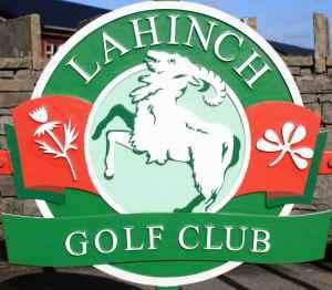 Lahinch Golf Club logo (Image: Sharon McAuley)