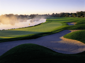 Bay Hill's 18th hole (Image: Bay Hill Club and Lodge)