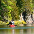 Canoeing in Algonquin Park (Image: Ontario Ministry of Natural Resources)