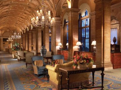 The Breakers Palm Beach lobby (Image: The Breakers)