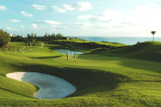 Port Royal Golf Course will host the PGA Tour's Bermuda Championship Oct. 31-Nov. 3. (Image: Bermuda Tourism)
