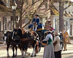 Colonial Williamsburg street scene (Image: Colonial Williamsburg)