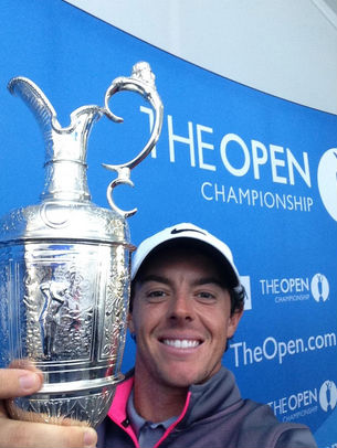 Rory McIlroy (Image: @TheOpen)