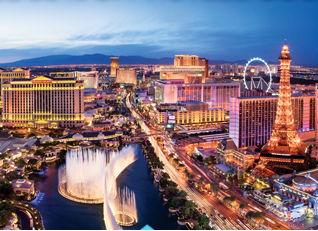 Las Vegas downtown (Image: Las Vegas Tourism)