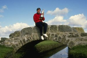 Nick Faldo at St. Andrews (Image: The Open Championship)