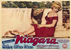 Marilyn Monroe Niagara poster