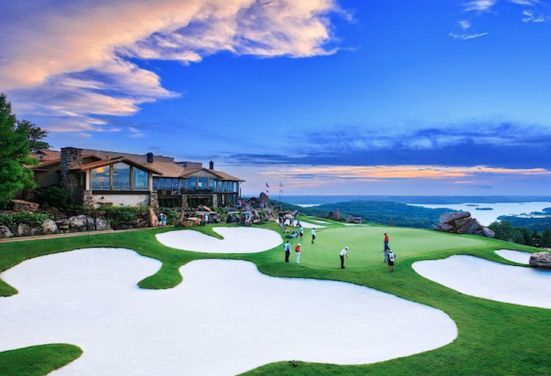 Top of the Rock golf course (image: Big Cedar Lodge)