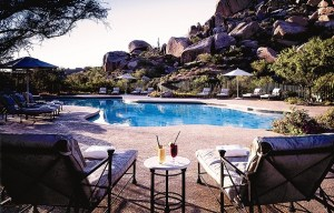 The Boulders Resort pool (Image: The Boulders Resort and Spa)