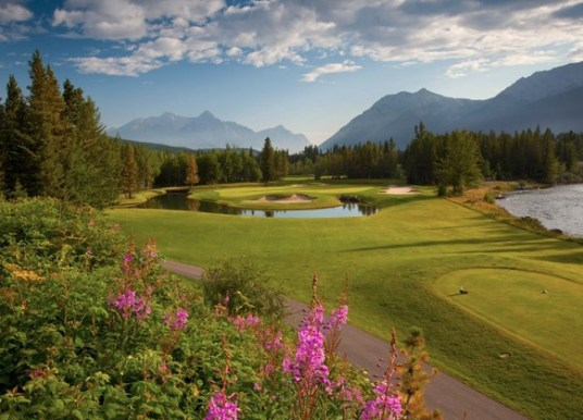 Kananaskis Hole No. 4 Mt. Kidd (Image: Kananaskis Country Golf Course)