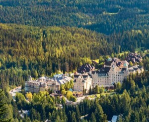 Fairmont Chateau Whistler resort.