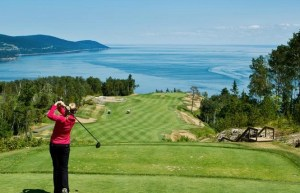 Fairmont Le Manoir Richelieu golf course, Charlevoix Quebec Canada