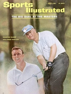 Sports Illustrated cover of Arnold Palmer and Jack Nicklaus 1965