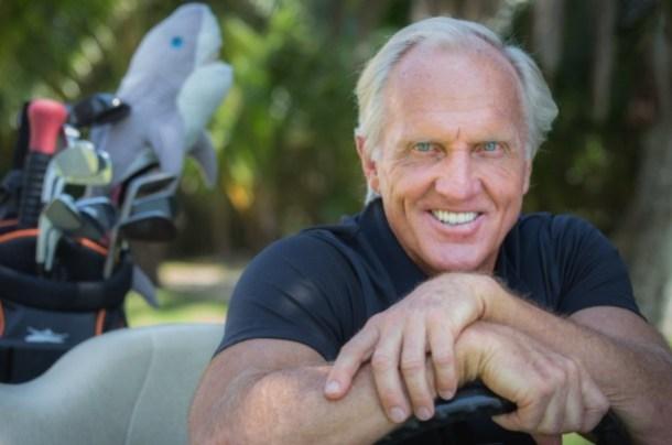 Golfer Greg Norman (Image: @SharkGregNorman)