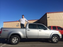 Oh yeah, I sold my truck. Never again will I live in a place like California and drive a V8. $100 dollars a tank, I will not miss that!