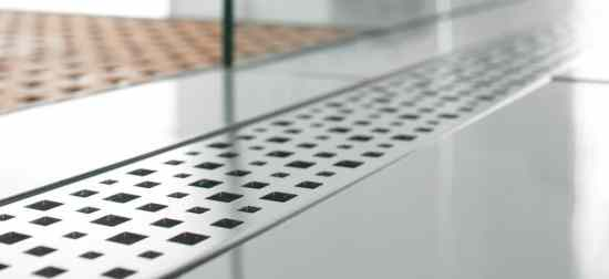 linear bathroom drain