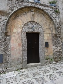 An old door, Erice Sicily. Photo: CanadianKate