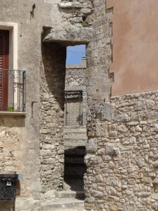 A doorway through a doorway, Erice Sicily. Photo: CanadianKate