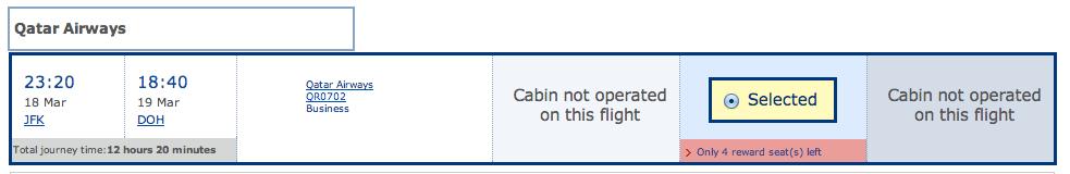 Wow, it's an all business class flight?