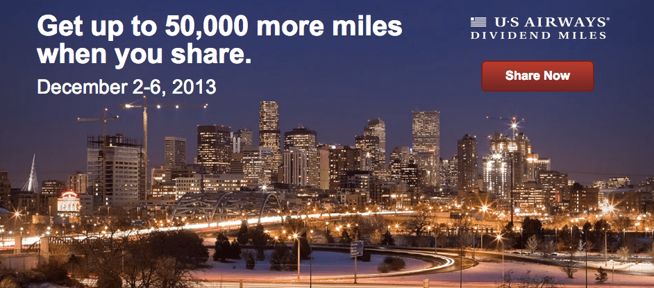 US Airways Share Miles