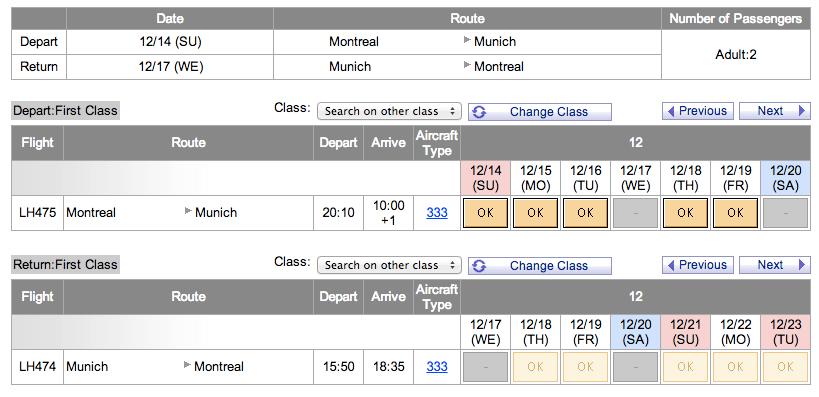 Montreal - Munich