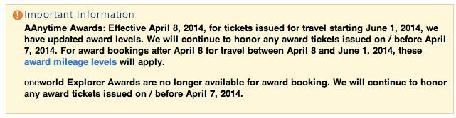No more Explorer Awards
