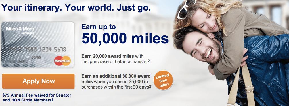 Lufthansa Miles & More Mastercard