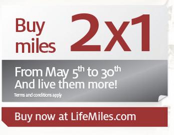Lifemiles Miles Promotion