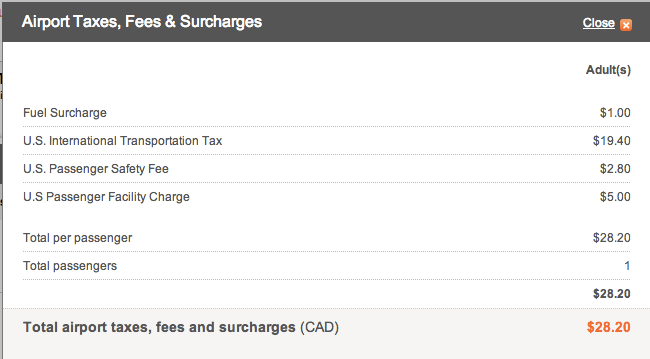 Asiana Fuel Surcharge