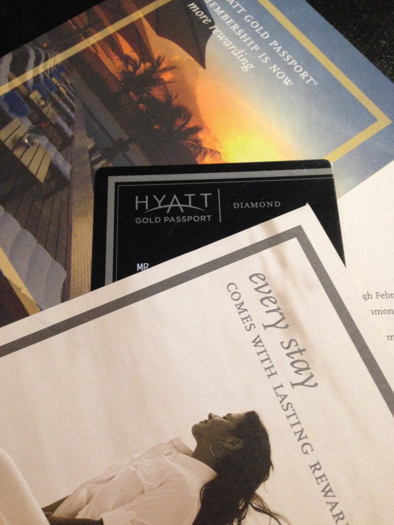 Hyatt Diamond Card