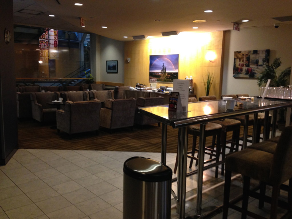 Vancouver Plaza Premium Lounge Transborder Seating Area