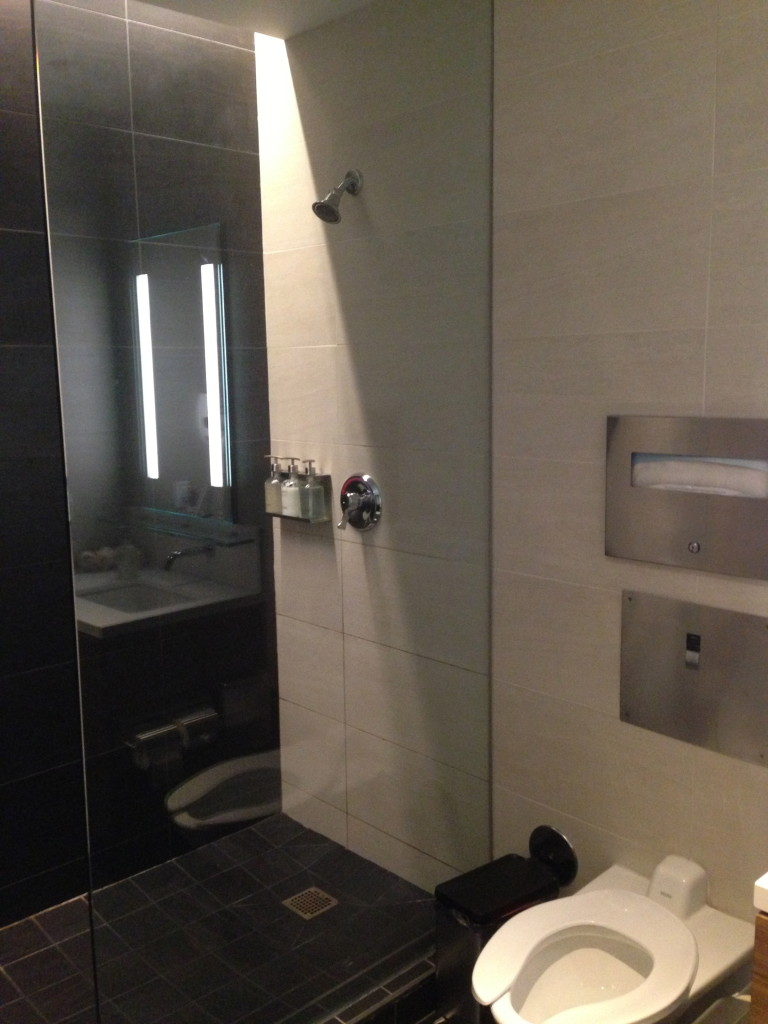 LAX Star Alliance Lounge First Class Shower Room
