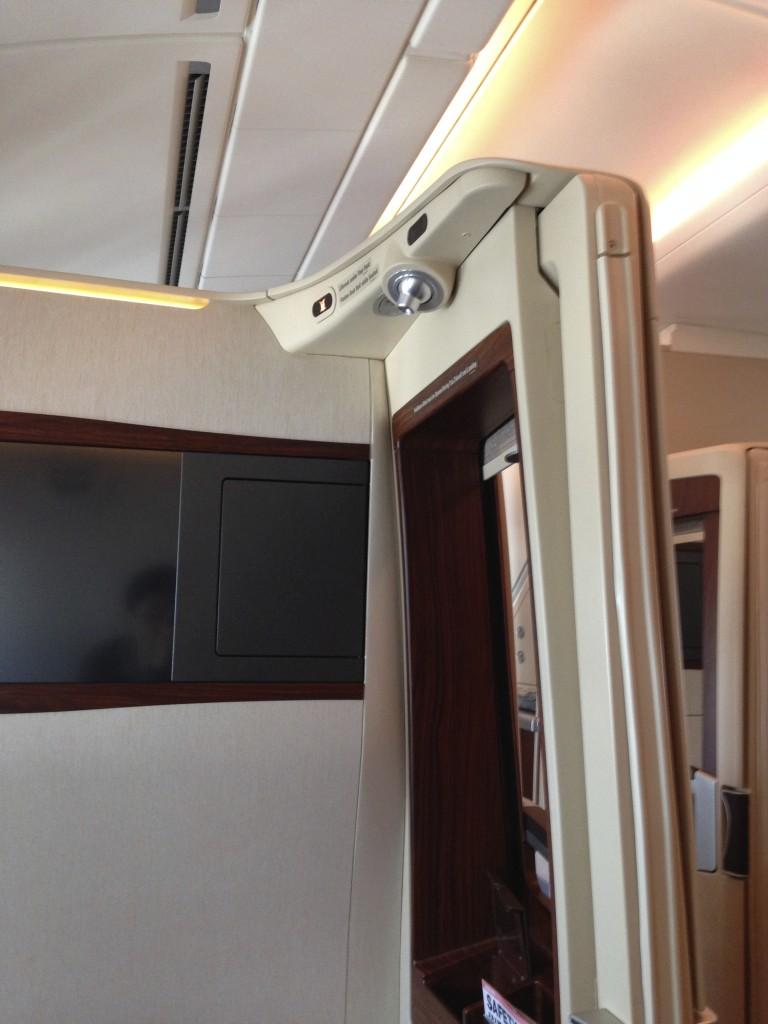Singapore Airlines A380 Suites Reading Light