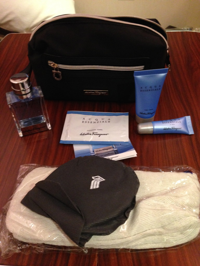 Singapore Airlines First Class Amenity Kit