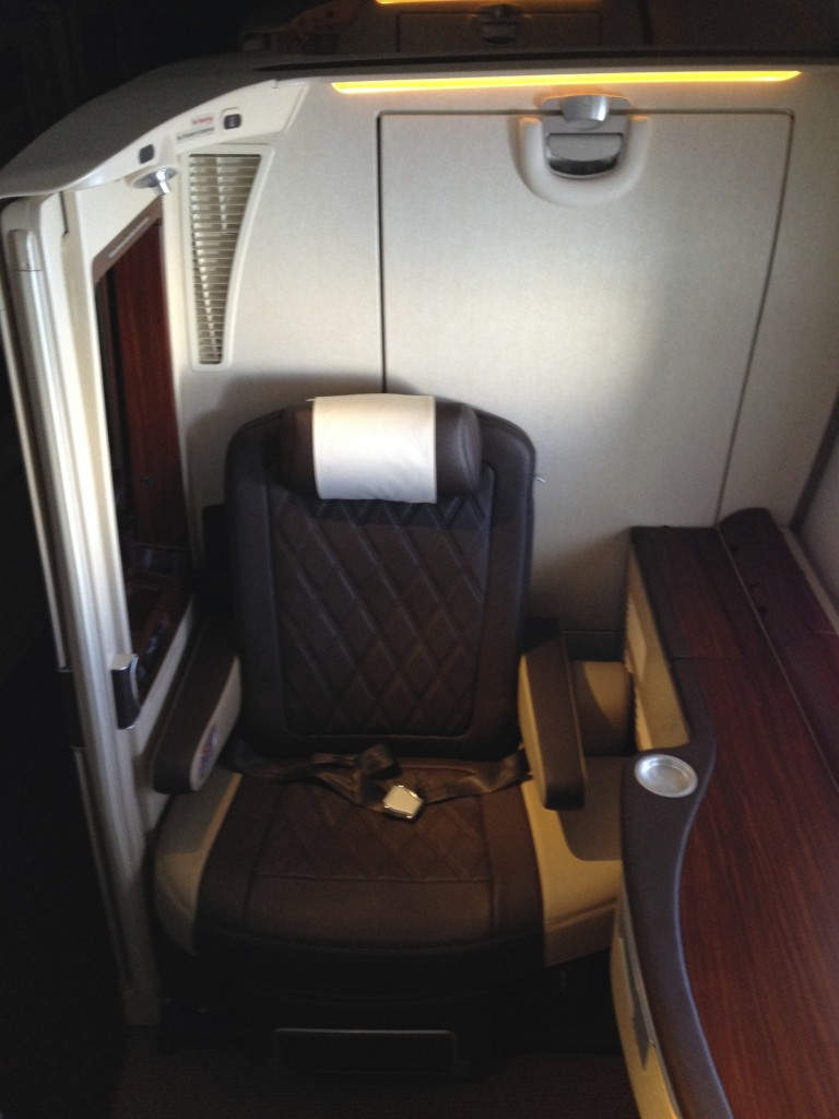 Singapore Airlines A380 Suites Seat