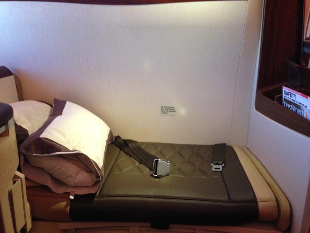 Singapore Airlines A380 Suites Ottoman