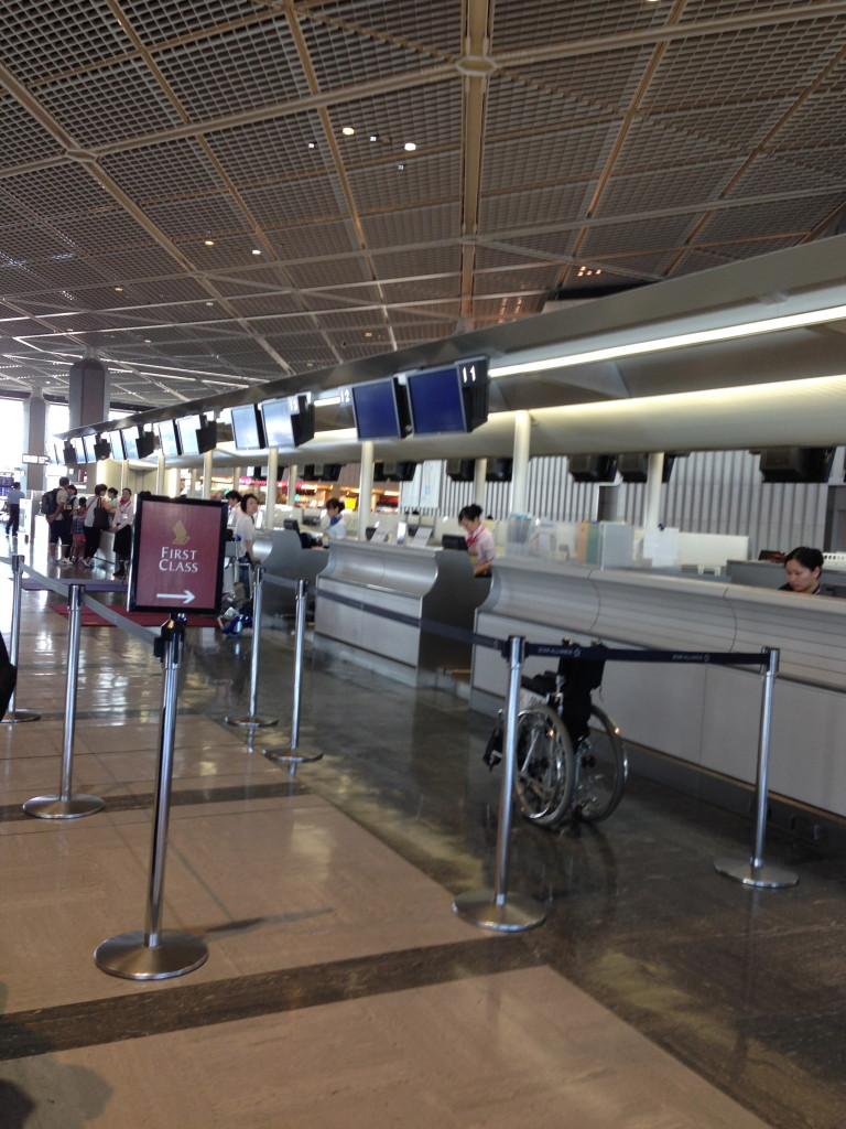 Singapore Airlines Check-In Tokyo Narita