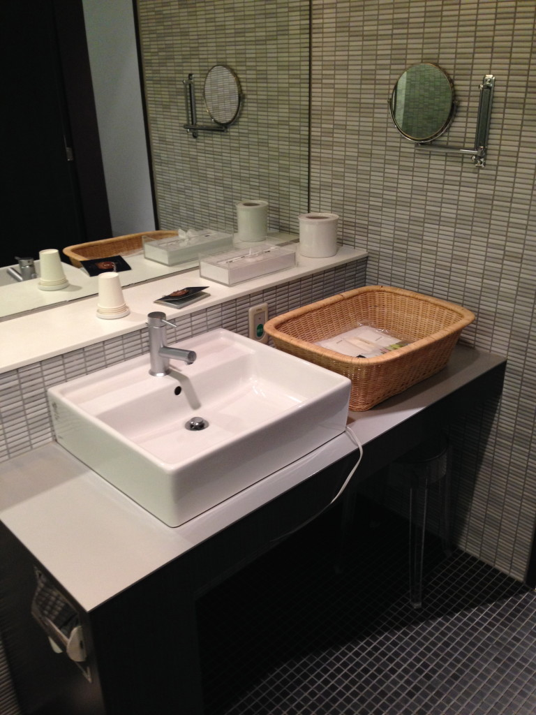 ANA Suites Lounge Sink